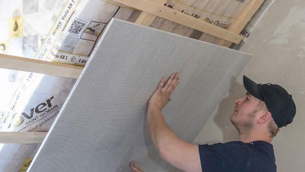 ausbauplatten aus bl hglas was leisten sie in bauen. Black Bedroom Furniture Sets. Home Design Ideas