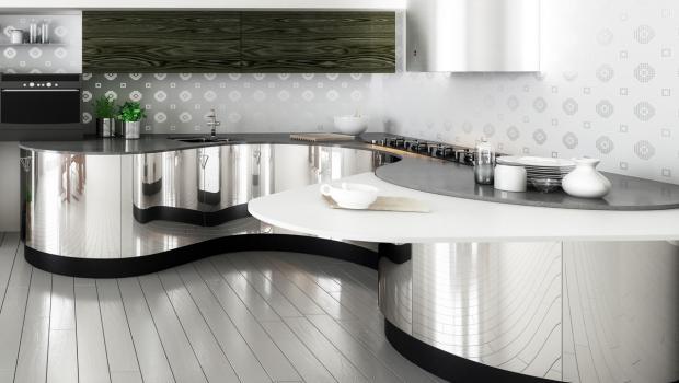 Moderne Kuche Edelstahloberflachen Richtig Reinigen In Wohnen