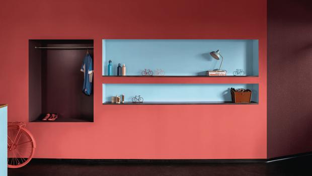 Rot Orange Und Apricot Die Farbtrends Für 2019 In Wohnen Bauen