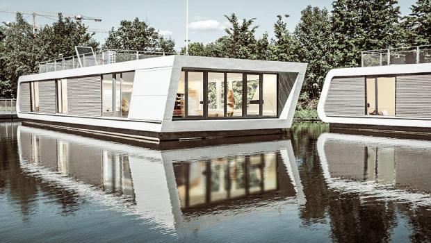 Alter neuer Trend: Schwimmende Häuser in Bauen & Wohnen @ diybook.at