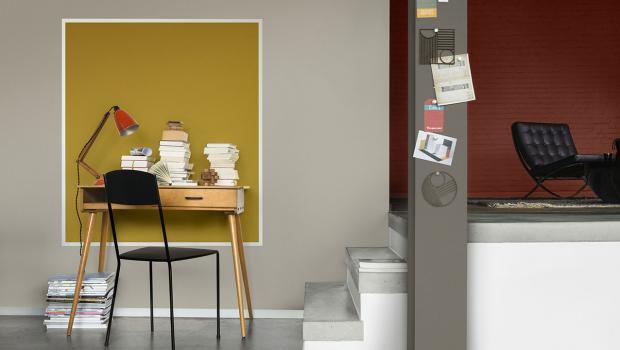 Daheim Arbeiten Mit Der Passenden Farbe Ins Home Office In Wohnen