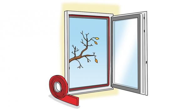 Favorit Zugluft stoppen: Erste Hilfe für das Fenster in Wohnen, Ratgeber SO94