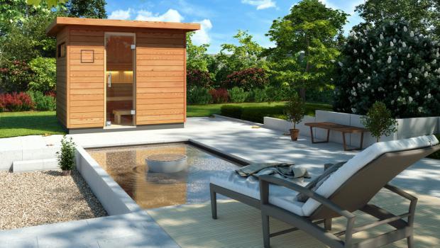 Der Sommerhitze trotzen – mit eigener Sauna im Garten in Garten ...
