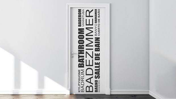 In 6 Schritten: Tür verschönern mit Wandtattoos in Wohnen ...