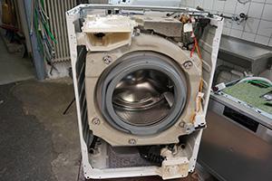 aeg waschmaschine frontblende wieder zusammenbauen reparatur anleitung. Black Bedroom Furniture Sets. Home Design Ideas