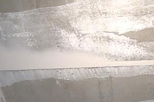 Betondecke Streichen wand verputzen wand spachteln anleitung diybook at