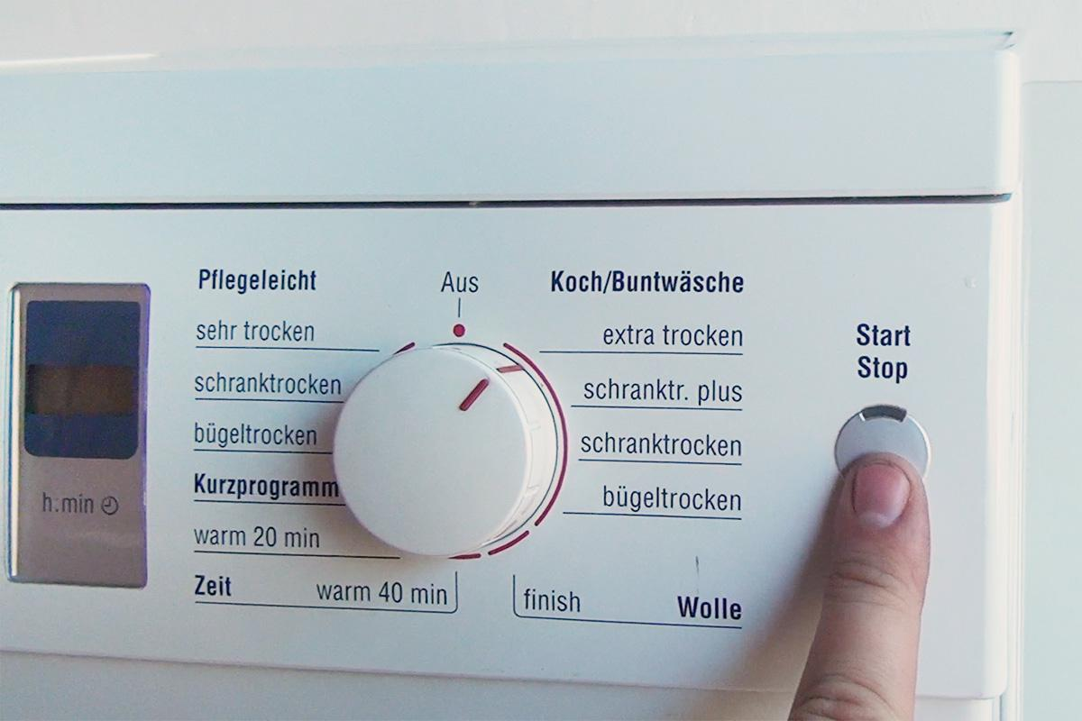 Bosch trockner geht nicht mehr an anleitung diybook at