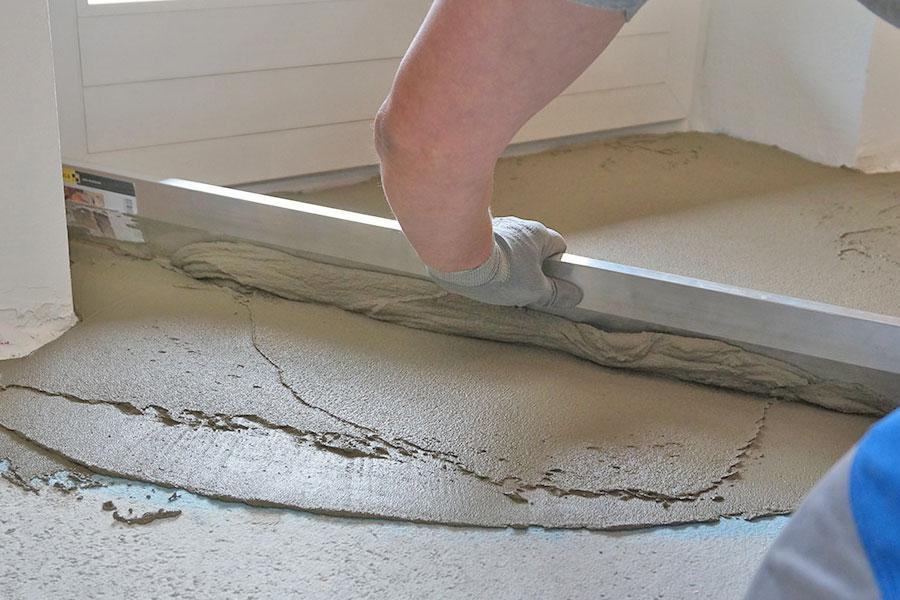 Fußboden In Garage Ausgleichen ~ Boden ausgleichen grundlagen anleitung tipps diybook at