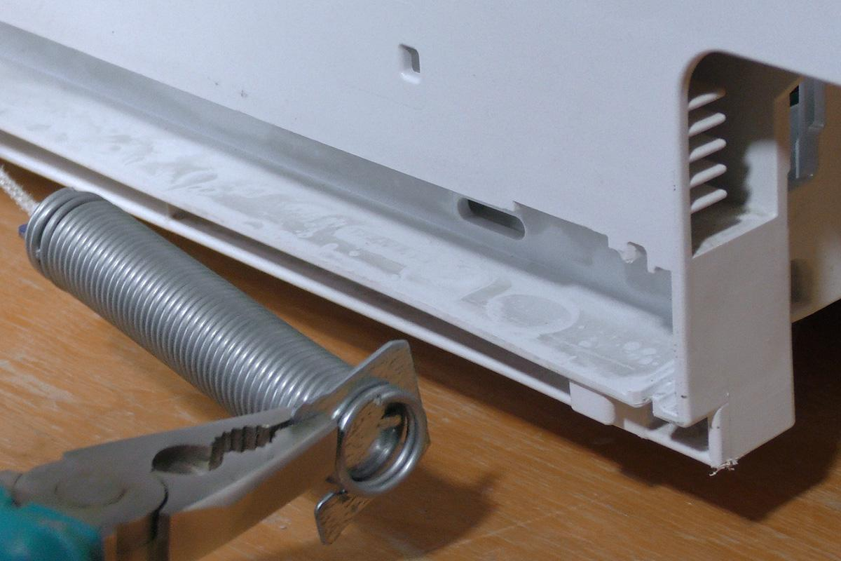 Siemens Kühlschrank Reparatur : Siemens geschirrspüler türfeder austauschen anleitung diybook at