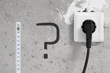 Steckdosen Im Fußboden ~ Die höhe von steckdosen und schaltern bei der elektroinstallation