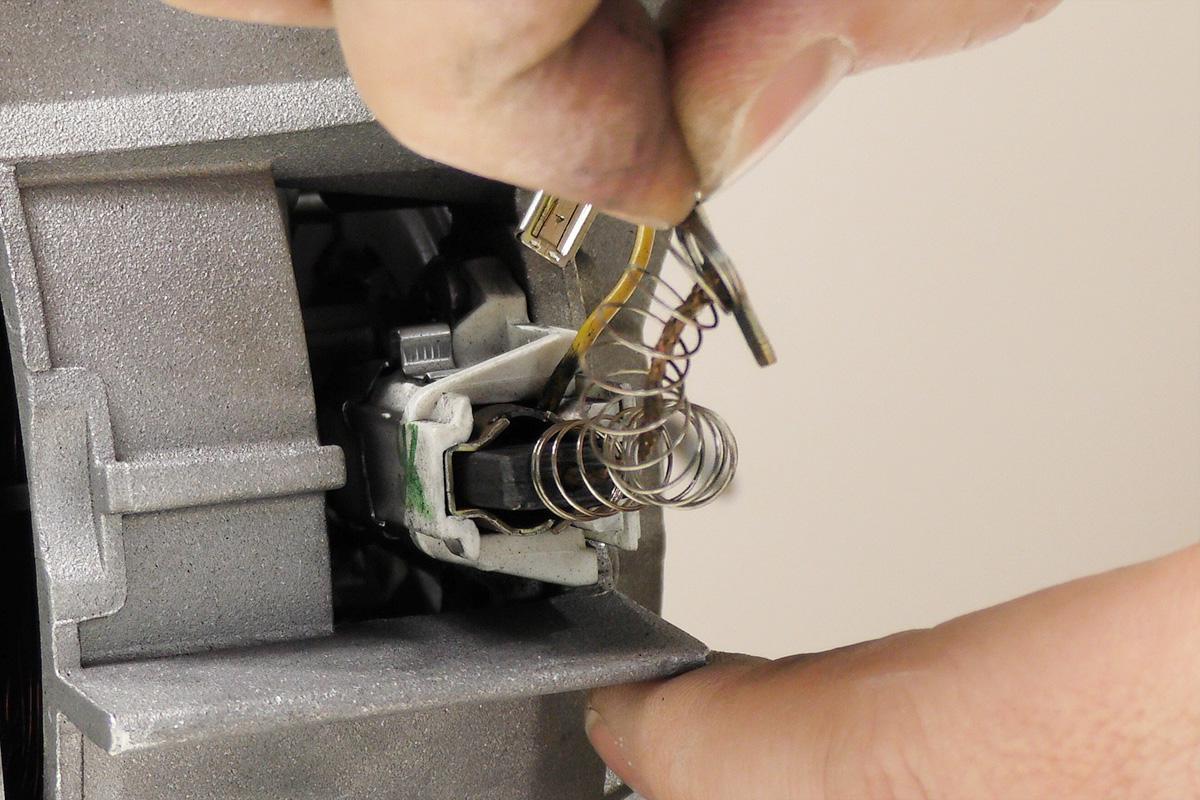Montageanleitung siemens waschmaschine kohlen wechseln