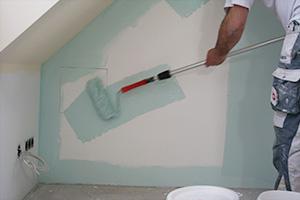 wnde farbig streichen anleitung tipps diybookat - Erst Decke Oder Wande Streichen