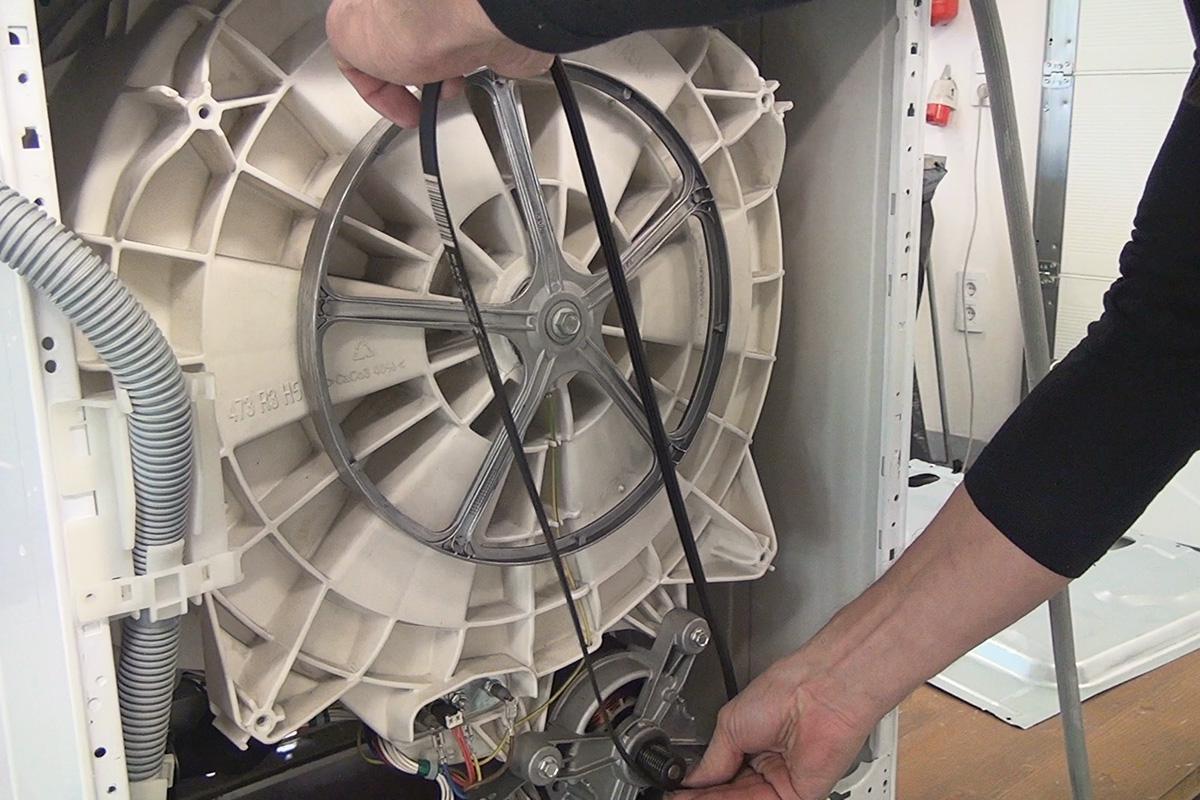 Waschmaschine Keilriemen Wechseln Anleitung Diybook At