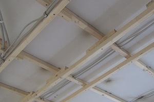 Decke Abhangen Holzkonstruktion Herstellen Anleitung Tipps Vom
