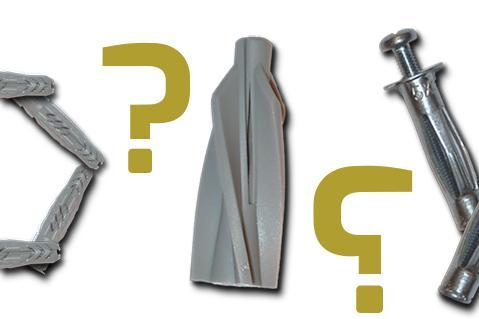 Beliebt Dübelarten - Welcher Dübel für welche Wand? Materialkunde @ diybook.at EL05