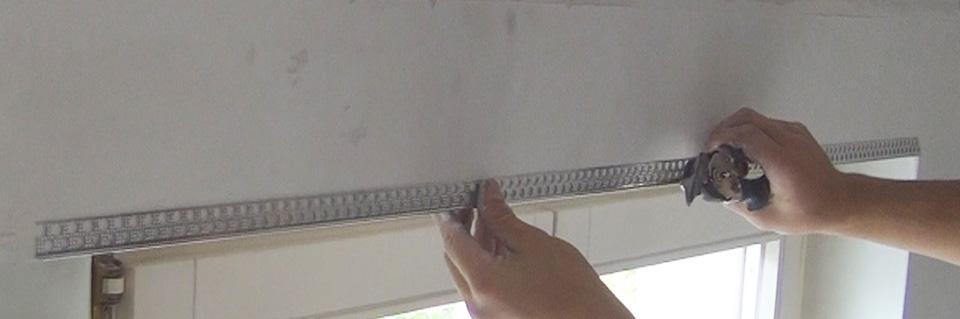 Kantenschutz Anbringen Kantenschutzprofil Spachteln Anleitung - Fliesen kantenprofil nachträglich