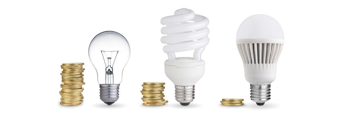 Von der Glühbirne bis zur LED: Leuchtmittel-Übersicht mit Kennzahlen ...