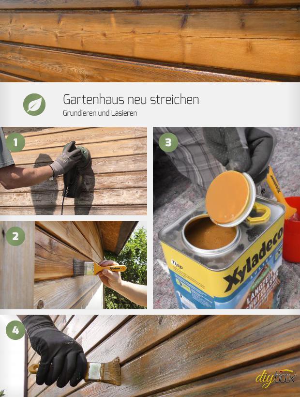 Lackiertes Holz Lasieren Trendy Heimwerker Trgt Lasur Auf Stuhl Auf