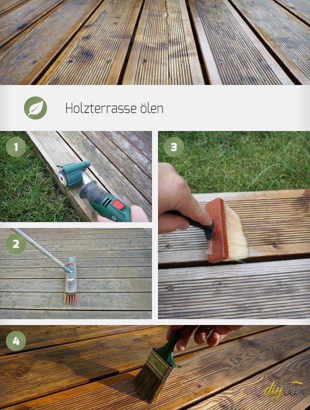 Gemeinsame Holzterrasse ölen - Anleitung & Tipps vom Tischler | Holzterrasse @OX_48