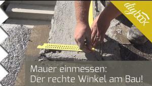 Embedded thumbnail for Mauern einmessen