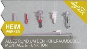 Embedded thumbnail for Welcher Dübel für Rigipswände? - Der große Vergleich!