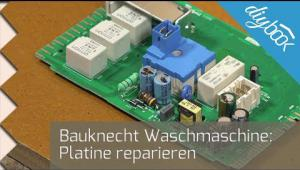 Embedded thumbnail for Bauknecht Waschmaschine: Platine reparieren