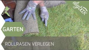 Embedded thumbnail for Rollrasen verlegen