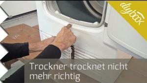 Embedded thumbnail for Trockner trocknet nicht mehr richtig
