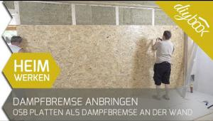 Embedded thumbnail for OSB-Platten verlegen