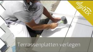 Embedded thumbnail for Terrassenplatten verlegen