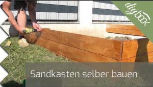 Embedded thumbnail for Sandkasten selber bauen