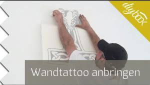 Embedded thumbnail for Großes Wandtattoo anbringen
