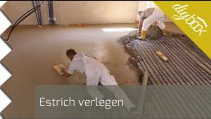 Embedded thumbnail for Estrich verlegen