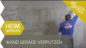 Embedded thumbnail for Wand gerade verputzen