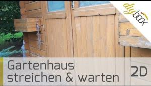Embedded thumbnail for Gartenhaus streichen - Das Video