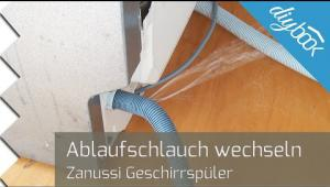 Embedded thumbnail for Ablaufschlauch einer Spülmaschine wechseln