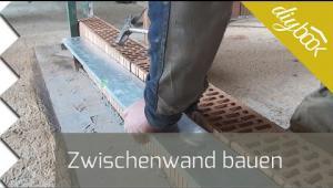 Embedded thumbnail for Zwischenwand bauen - Nicht tragende Wände mauern