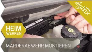 Embedded thumbnail for Marderabwehr ins Auto einbauen