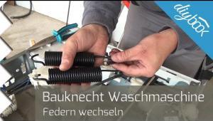 Embedded thumbnail for Bauknecht Waschmaschine: Federn wechseln