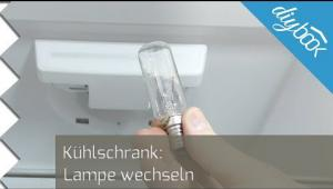 Bosch Kühlschrank Lampe Wechseln : Kühlschranklampe austauschen video anleitung diybook at