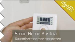 Embedded thumbnail for Smarthome-Raumthermostat montieren