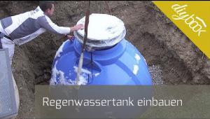Embedded thumbnail for Regenwassertank einbauen: Der Erdtank für den Garten