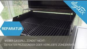 Embedded thumbnail for Weber Gasgrill zündet nicht: Zündeinheit tauschen