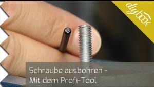 Embedded thumbnail for Kaputte Schrauben ausdrehen mit Profitool