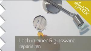 Embedded thumbnail for Loch in einer Trockenbauwand reparieren