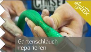 Embedded thumbnail for Gartenschlauch reparieren - Hält das Tape, was es verspricht?