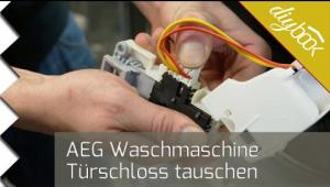 Embedded thumbnail for AEG Waschmaschine - Türschloss wechseln