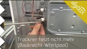 Embedded thumbnail for Trockner heizt nicht mehr: Thermostate wechseln