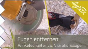 Embedded thumbnail for Fugen entfernen: Multifunktionswerkzeug oder Winkelschleifer?