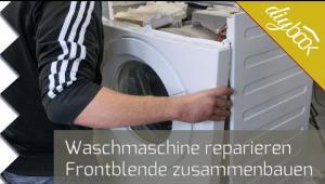 Embedded thumbnail for AEG Waschmaschine - Frontblende zusammenbauen